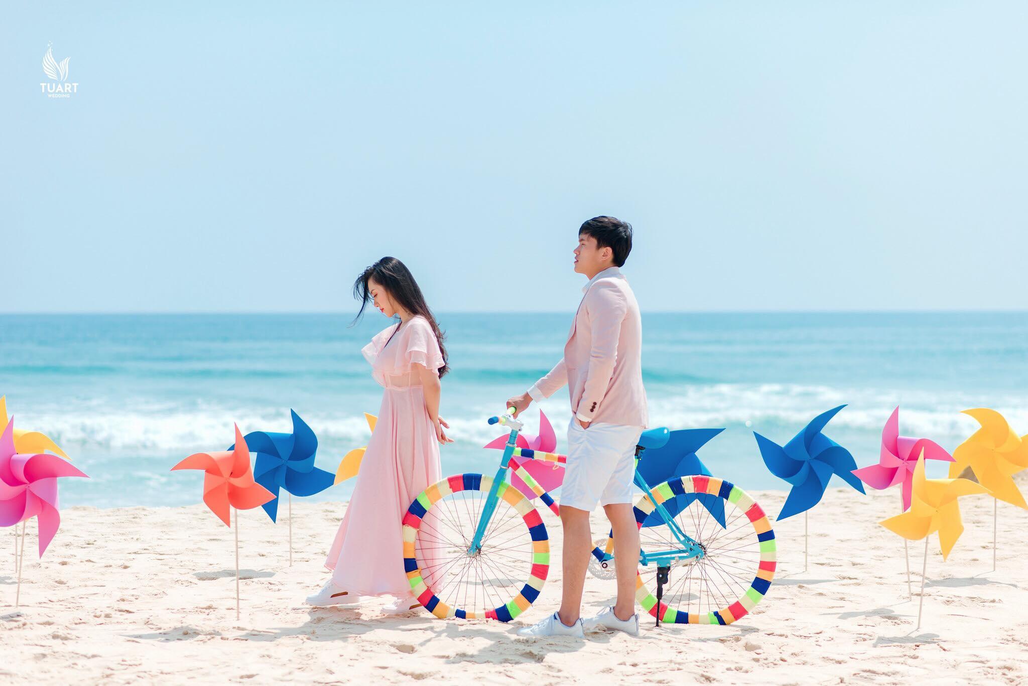Album ảnh  cưới đẹp biển Mỹ Khê